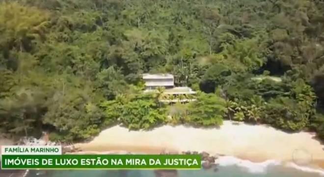 Matéria mostra imóveis irregulares da família Marinho