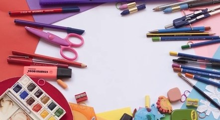 Material escolar pode sair até 50% mais barato na internet