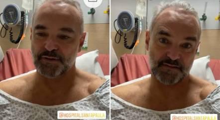 Mateus Carrieri passa por cirurgia de próstata em São Paulo