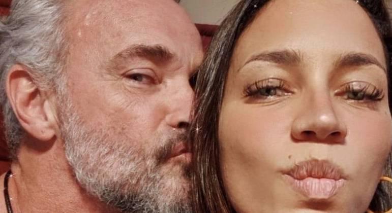 Mateus Carrieri se derrete pela noiva Day Ribeiro