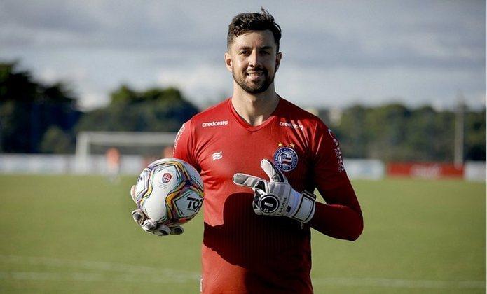 Mateus Claus: goleiro do Bahia, 26 anos, contrato até dezembro deste ano. Jogou em dois compromissos no ano como titular