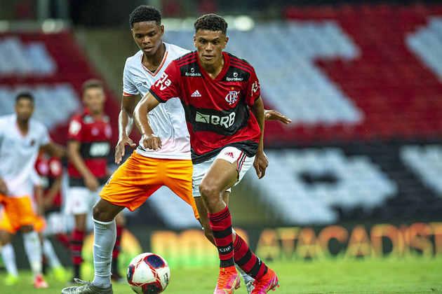 Mateus Lima (17 anos) - Atacante - 2 jogos