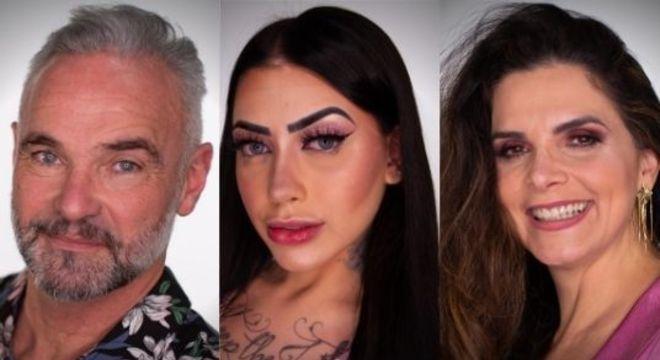 Luiza Ambiel, MC Mirella e Mateus Carrieri disputam permanência em reality