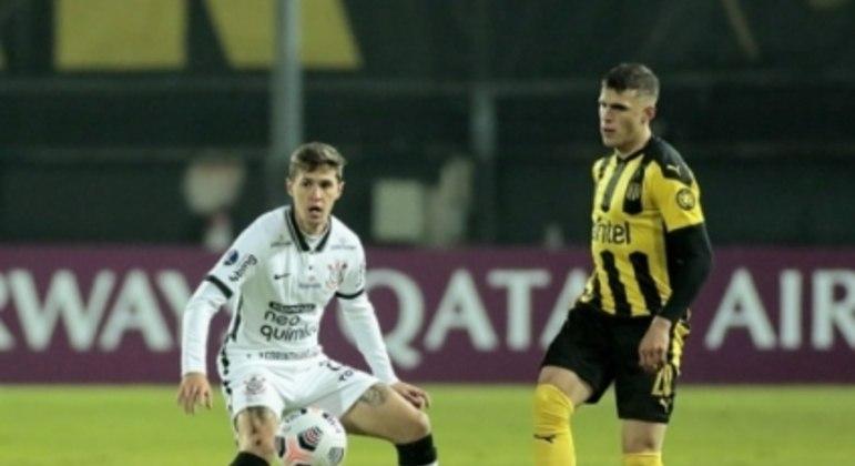 Mateus Vital - Peñarol x Corinthians