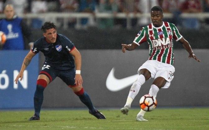 Matheus Alessandro - Fora dos planos do Fluminense, o atacante foi mais um que não conseguiu vingar no profissional. Atualmente está no Botafogo-SP, mas jogou as duas partidas da Sul-Americana, uma como titular, e cinco jogos do Carioca.