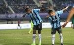 Com passagens por Grêmio e América-RJ, Babi perambulou o Brasil em busca de se firmar no futebolLeia mais:Adriano briga com namorada em hotel de luxo e termina relação