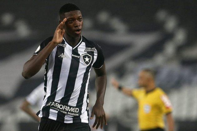 Matheus Babi, de 23 anos, é jogador do Botafogo e seu contrato com o clube vai até dezembro de 2021. O valor de mercado é de 900 mil euros (R$ 5,9 milhões).