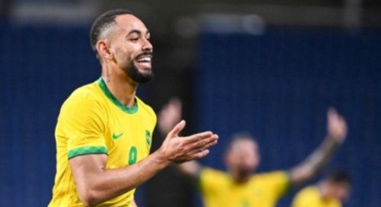 Matheus Cunha - Seleção Olímpica - Brasil x Egito