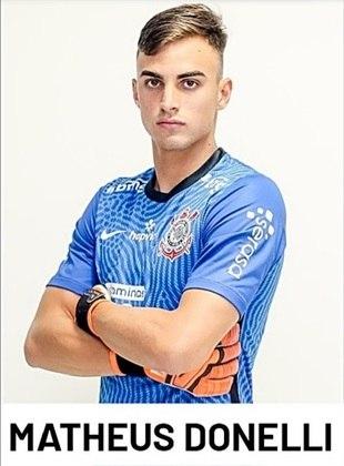 Matheus Donelli - 18 anos - Já jogou pelo Paulistão