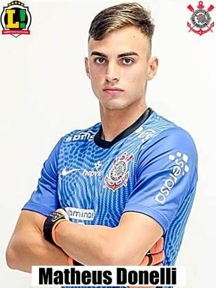 MATHEUS DONELLI - 6,0: Fez sua estreia pelo Corinthians, não teve culpa nos gols sofridos e fez boa defesa no segundo tempo.