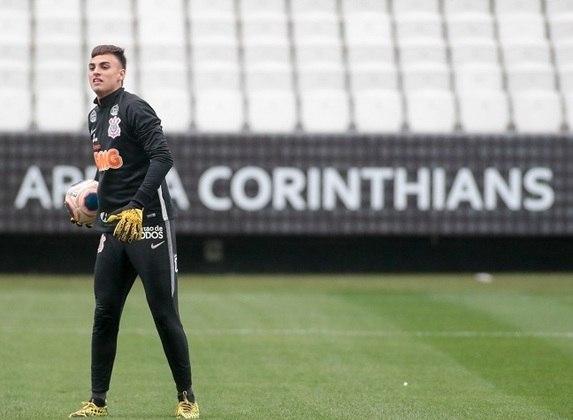 Matheus Donelli: Especial poder treinar aqui na Arena Corinthians, experiência única, desfrutar, aproveitar bastante e fazer um grande trabalho
