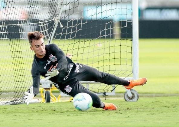 Matheus Donelli - Posição: goleiro - Clube: Corinthians - Idade: 19 anos - Situação: reserva de Cássio, Donelli estreou pelo Corinthians em 2021 e é visto como um dos jogadores mais promissores de sua posição.