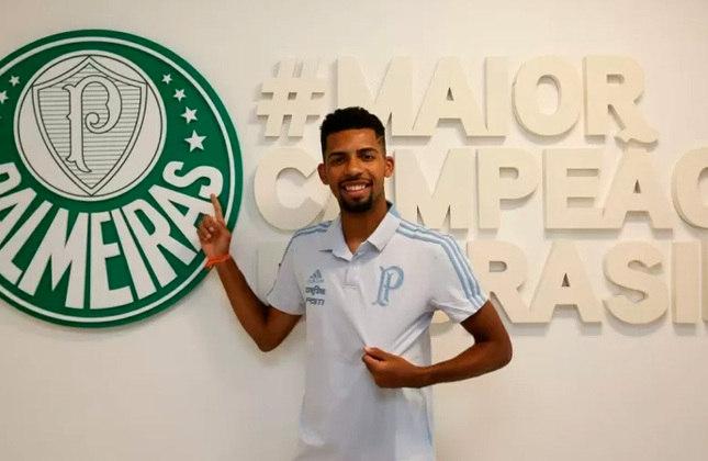 Matheus Fernandes - Clube atual: Palmeiras - Clube anterior: Barcelona - Posição: Volante - Idade: 23 anos