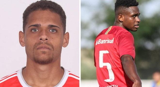 Matheus Monteiro e Luiz Vinícius não jogam mais pelo Internacional