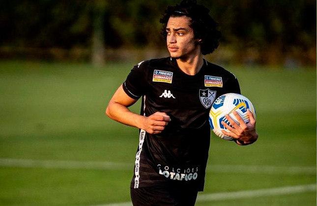Matheus Nascimento (Brasil) - Clube: Botafogo - Posição: Atacante