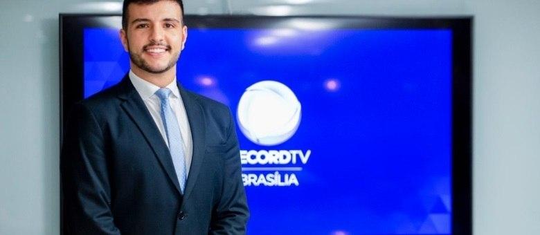 Matheus Ribeiro será o âncora do DF Record a partir de maio
