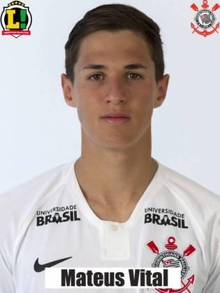Matheus Vital - 5,0 - Tocou poucas vezes na bola e não foi participativo, além de ter perdido a posse diversas vezes. Foi substituído no intervalo.