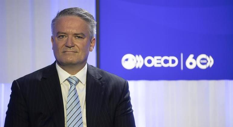 O secretário-geral da OCDE, Mathias Cormann, comemorou a aprovação do acordo