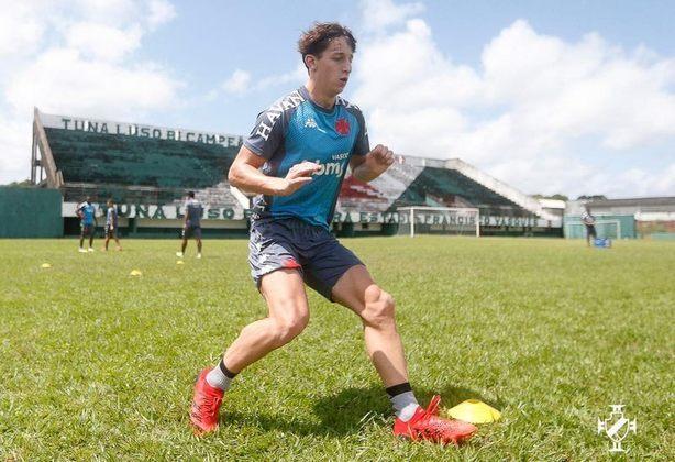 Matías Galarza (Meio-campista) - Portuguesa-RJ 2 x 0 Vasco - São Januário - Campeonato Carioca - 3 de março de 2021.