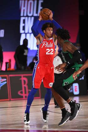 Matisse Thybulle (Philadelphia 76ers) 5,0 - Especialista em defesa, Thybulle jogou por 32 minutos, contribuindo com cinco pontos, quatro rebotes e duas roubadas