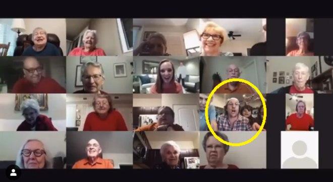 Matthew McConaughey participa de bingo online com idosos em asilo