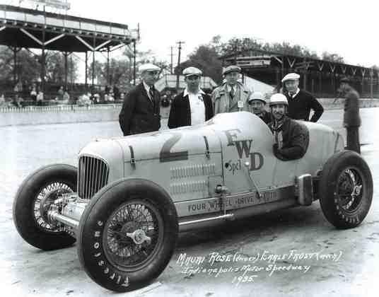 Mauri Rose dominou os anos 40 da Indy com vitórias em 1941, 1947 e 1948