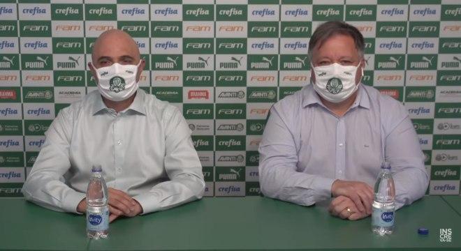 Galiotte e Anderson Barros, diretor de futebol, vão definir perfil de novo técnico