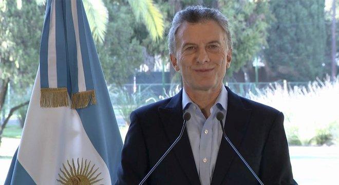 Macri tentou passar confiança. Acabou provocando o contrário