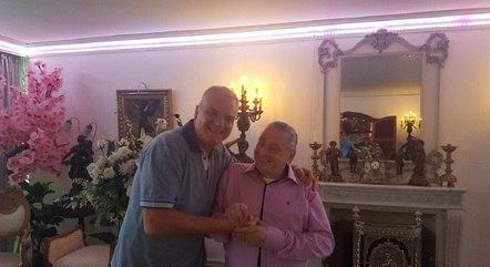 Mauro Alencar e Vicente Sesso em recente encontro