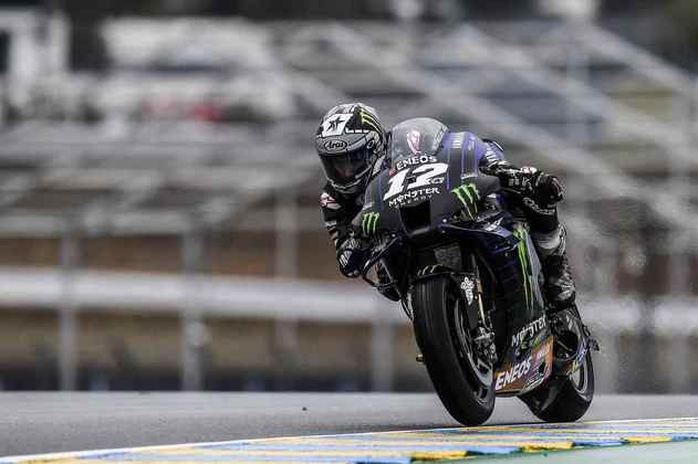 Maverick Viñales foi a melhor Yamaha do dia: segundo