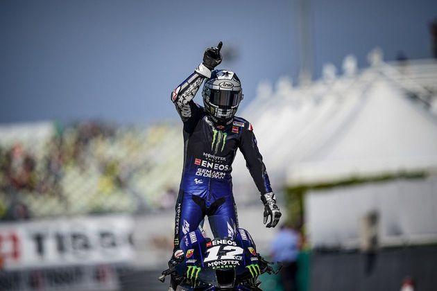 Maverick Viñales venceu o GP da Emília-Romanha