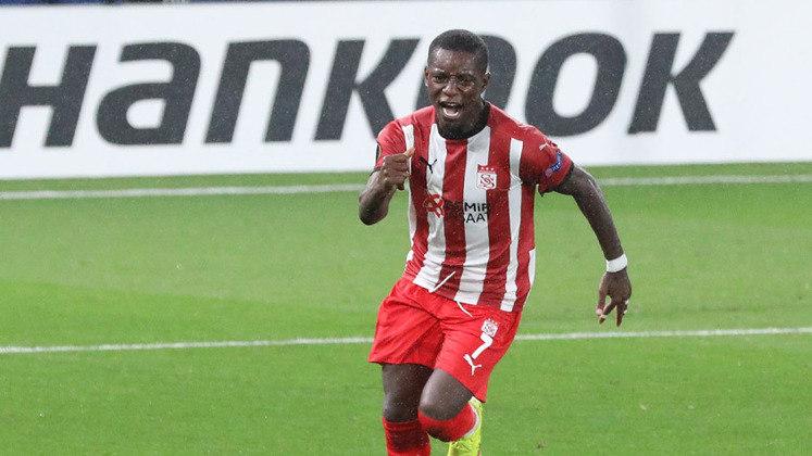 Max Gradel - Clube: Sivasspor - Seleção: Costa do Marfim - Posição: Ponta-esquerda - Idade: 33 anos - Valor segundo o Transfermarkt: 3,6 milhões de euros (aproximadamente R$ 21,76 milhões)