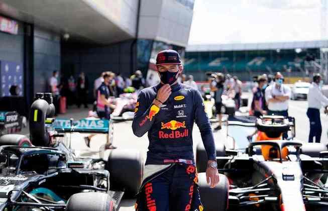 Max Verstappen após a classificação em Silverstone