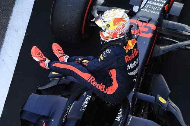 Max Verstappen conseguiu o segundo posto no grid