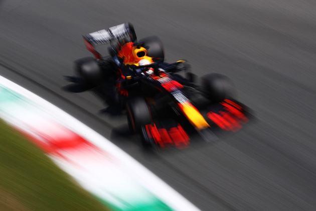 Max Verstappen disse, após o treino, que espera brigar pelo pódio no GP da Itália