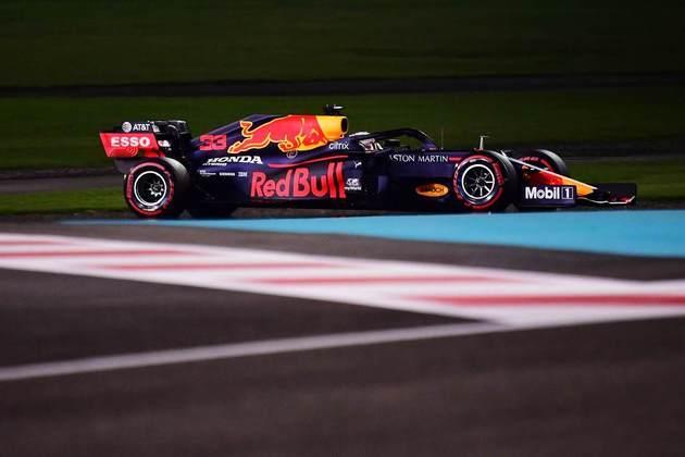 Max Verstappen em Abu Dhabi.