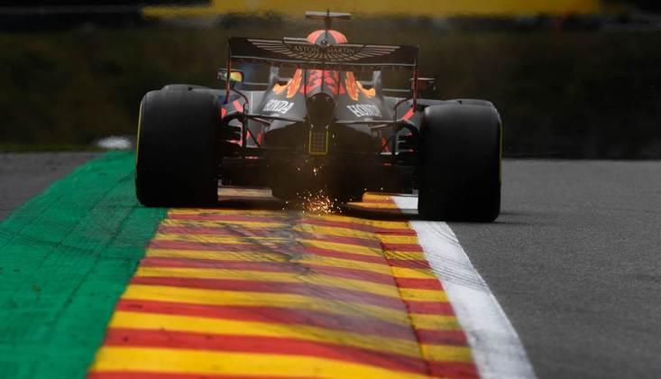 Max Verstappen fechou o dia como mais rápido em Spa-Francorchamps