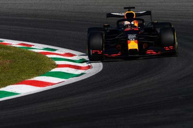 Max Verstappen foi o quinto mais veloz da sexta-feira em Monza
