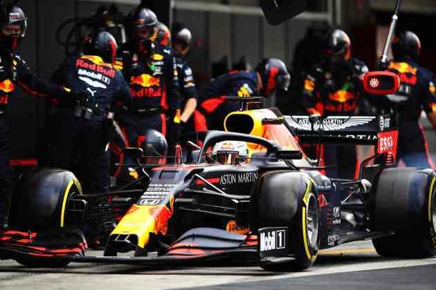 Max Verstappen foi o terceiro colocado no GP de Portugal
