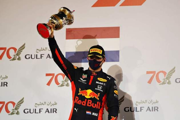 Max Verstappen foi segundo colocado.