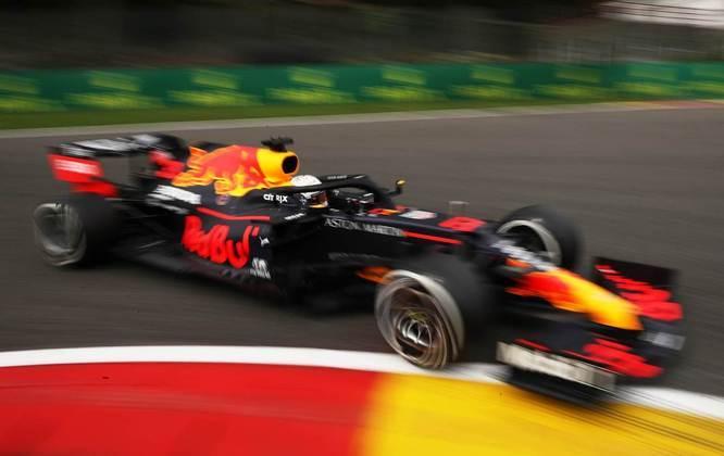 Max Verstappen mostrou bom ritmo na sexta-feira de treinos para o GP da Bélgica