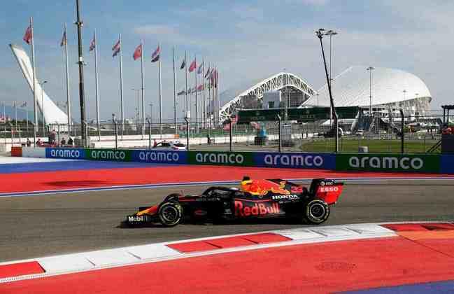 Max Verstappen não mostrou bom rendimento e foi apenas o sétimo