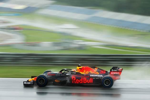 Max Verstappen rodou na última tentativa de conseguir a pole