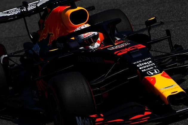 Max Verstappen teve uma sexta-feira complicada em Monza