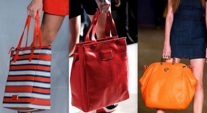Não existe nada mais prático do que bolsas enorme onde cabe tudo e mais um pouco, né?