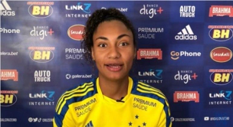 Mayara ficou boa parte da temporada passada longe do time azul e só estreou em 2021 no duelo contra o Napoli-SC