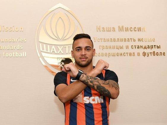 Maycon: o ex-volante do Corinthians, hoje com 22 anos, defende o Shakhtar Donetsk, da Ucrânia. Ele teve bom início no clube, mas depois sofreu uma lesão e vinha lutando para recuperar espaço.