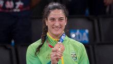 Bronze no judô, Mayra e Cargnin chegam ao Brasil de olho em 2024