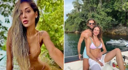 Mayra Cardi elogia 'boy à altura' de Luciana Gimenez