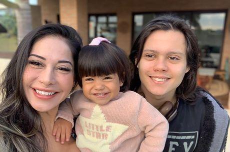 Filho de Mayra Cardi não quer que mãe volte com ex